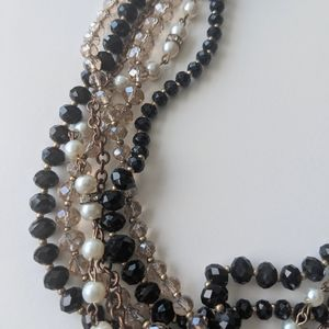 3 for $15 ♥️ WHBM Beaded Black Necklace